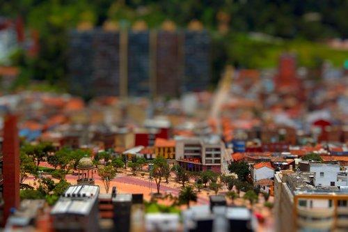 street  miniature  bogota