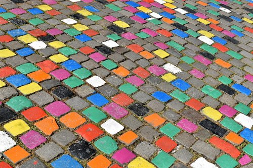 street  pavers  road