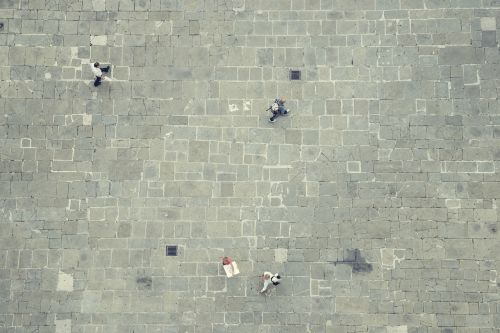 street stones people