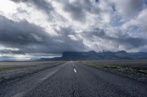 street road straight