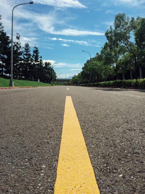 street asphalt marking