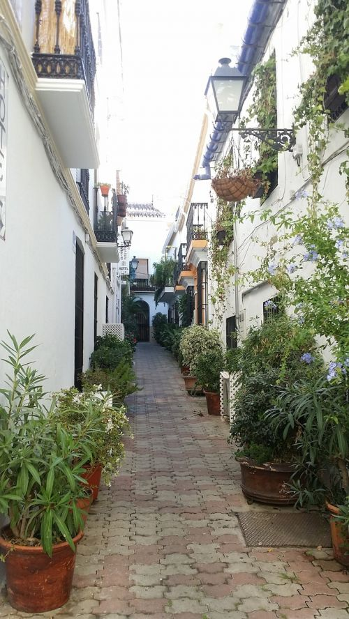 street pots andalusia