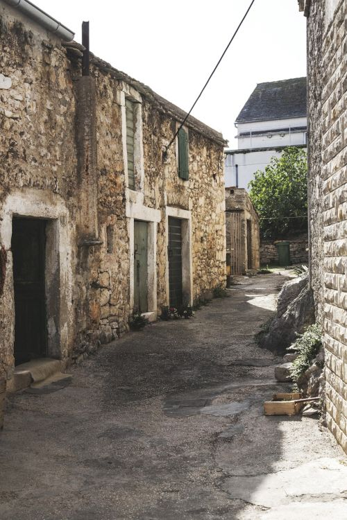 street old croatia