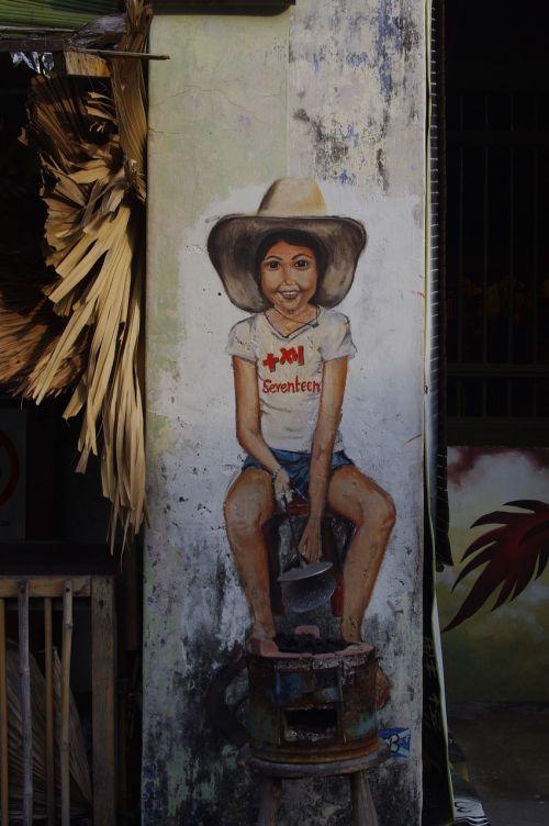 street-art penang malaysia