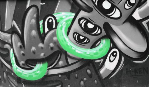 gatvės menas,grafiti,sienų tapyba,miesto menas,alternatyva,purkštuvas,Berlynas,kreuzberg,menas,žalias