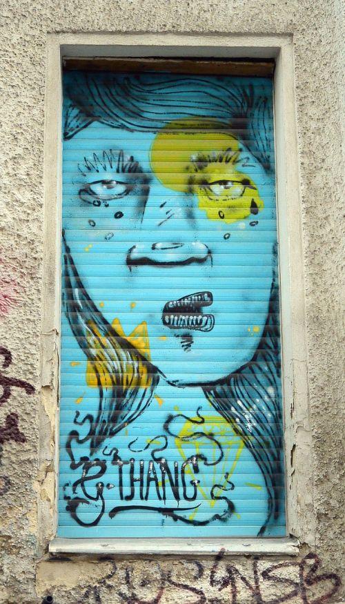 street art graffiti wall painting