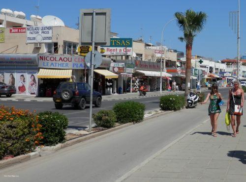 Street Ayia Napa