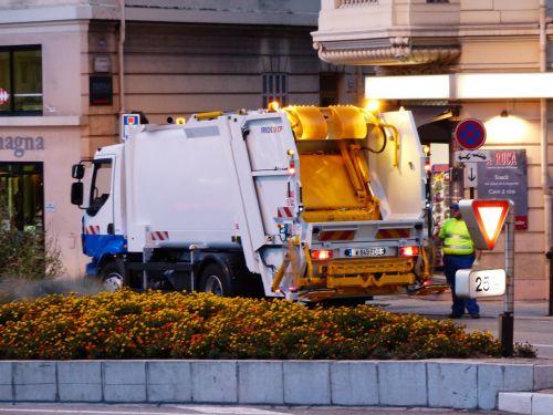 street cleaning garbage disposal monaco