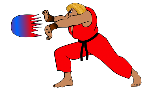street fighter fight martial arts