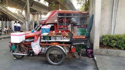 street food food stall bangkok
