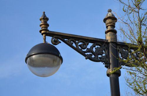 street lamp post lamp