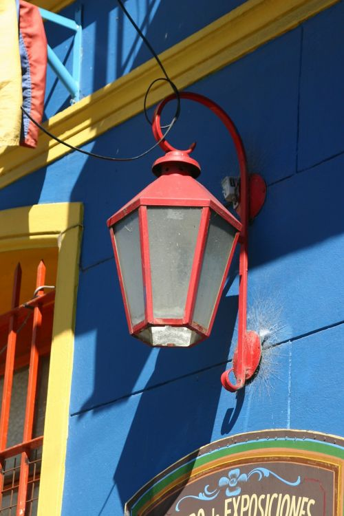 street lamp lantern argentina
