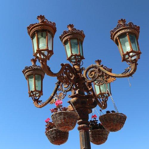 street lamp  lamppost  streetlight