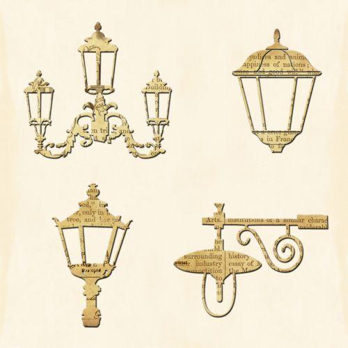 Street Lamps Vintage