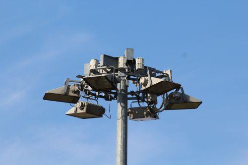 street lights spotlight lighting