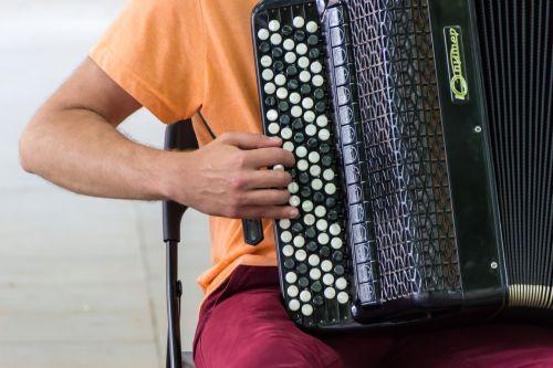 street music musician accordion