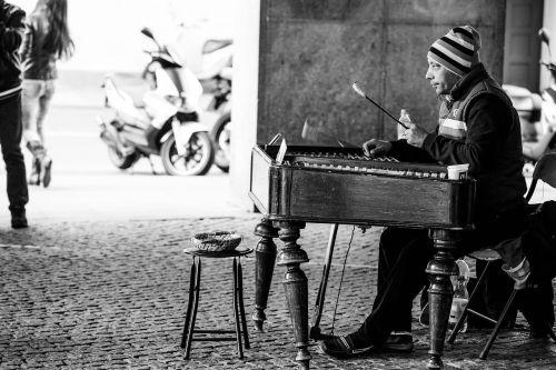 street musicians music musician