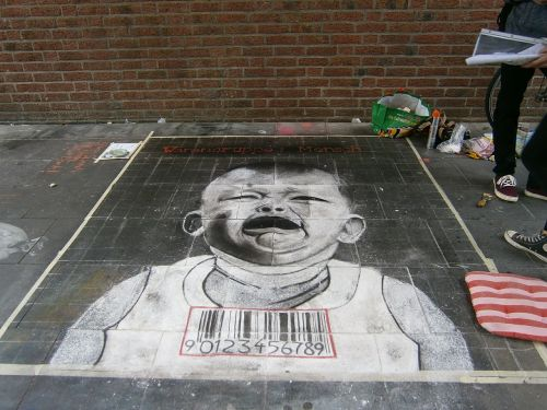 street painting road painting