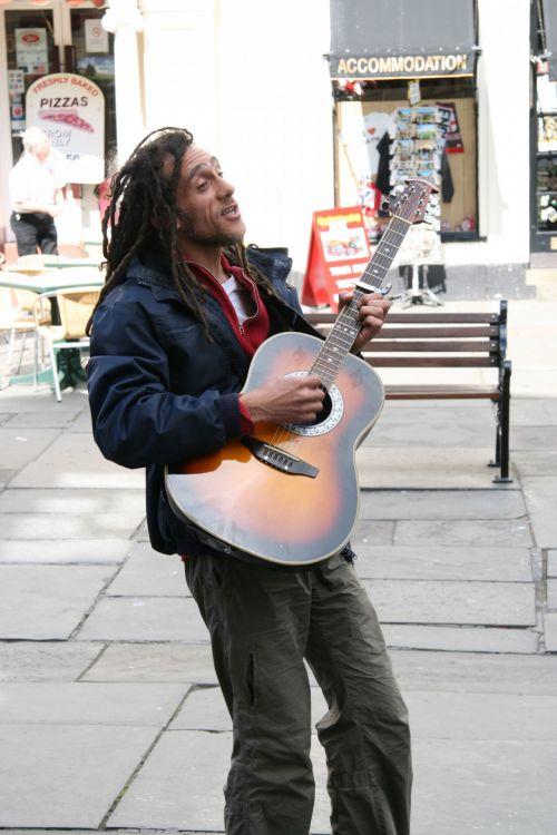 Street Performer Musician