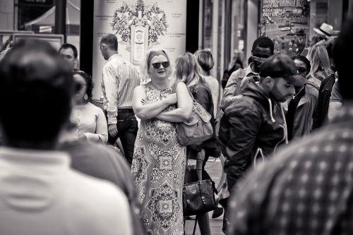 street photography woman urban