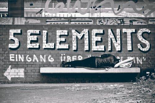 street photography  homeless man  street