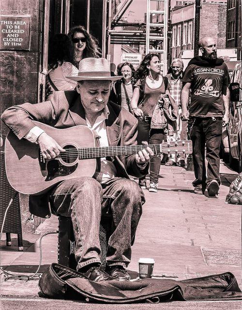 street player music musician