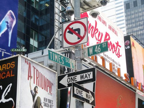 street signs signs new york