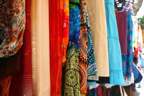 street vendor fabric vendor