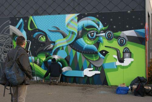 streetart hasselt mural