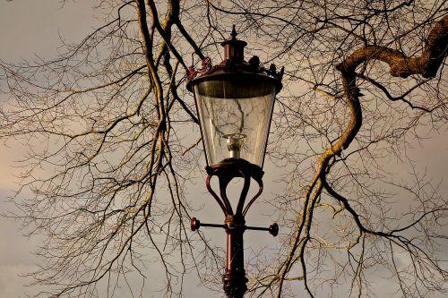 streetlamp lantern street lantern