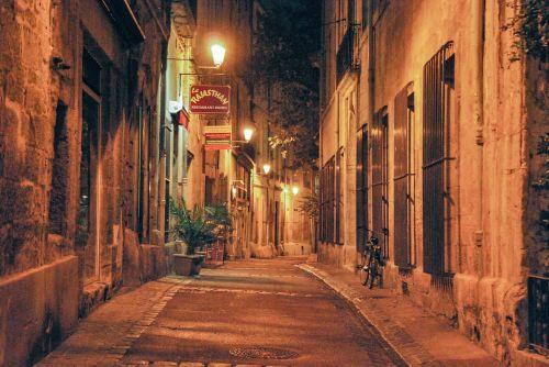 gatves,bohēma,lengviau,vaikščioti,žibintai,alėjos,montpellier,france,kampas,vaikščioti