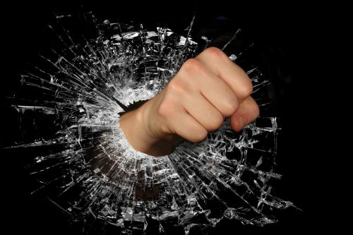 fist strength anger
