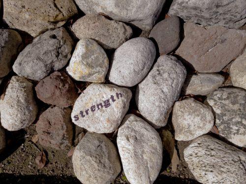 Strength Written On Rock