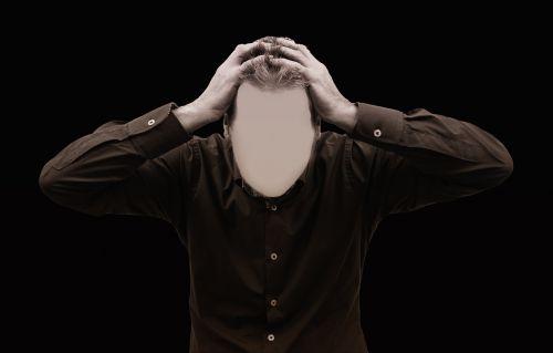 stress burnout businessman