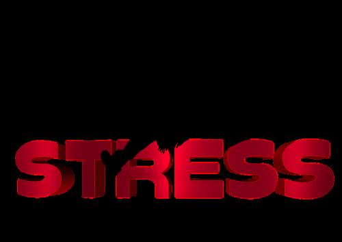 stress silhouette psychology