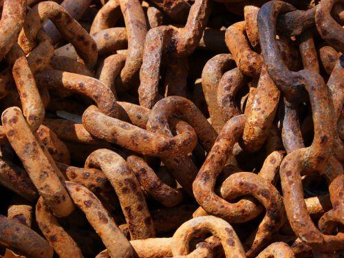 string links rusty