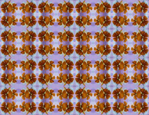 Strings Of Rust Flowers