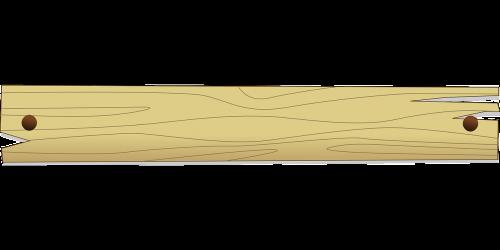 strip of wood wood border wood