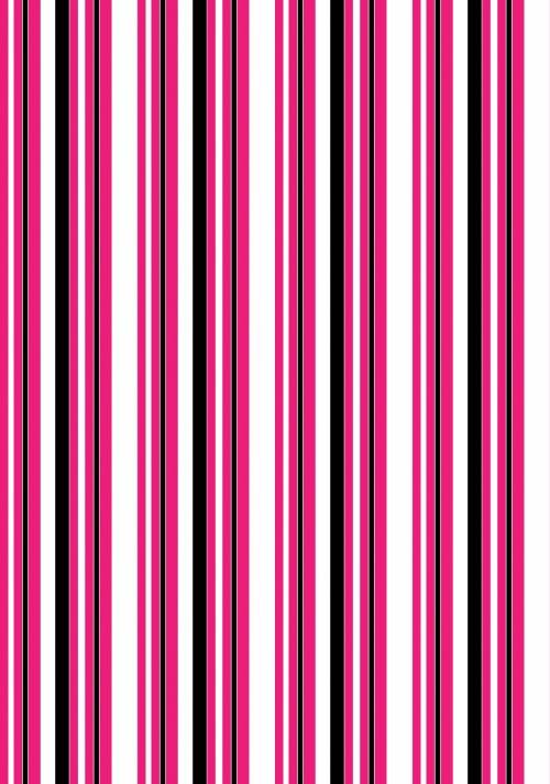 Stripes Pink White Background