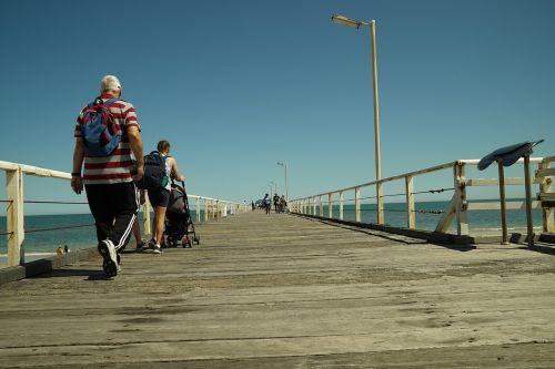 stroll jetty pier