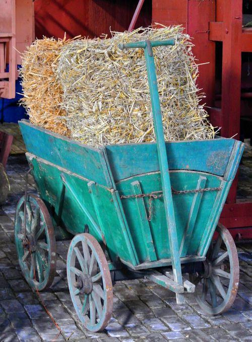 stroller handcart wood