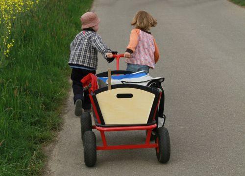 stroller children walk