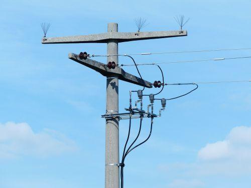 strommast power line current