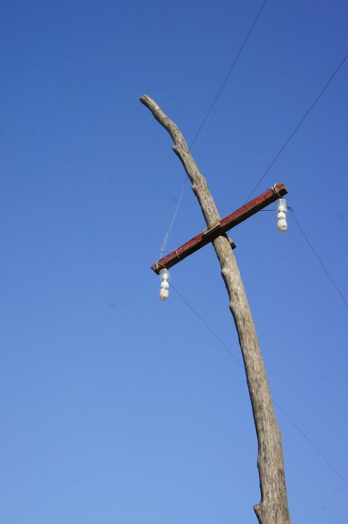 strommast construction electricity