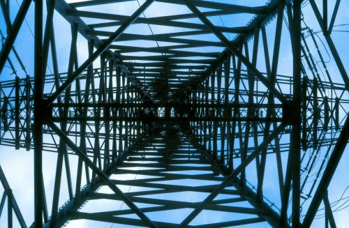 strommast electric structure