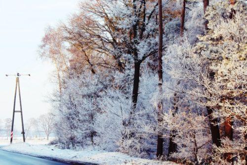 strommast road wintry