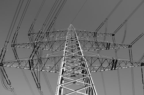 strommast current power line