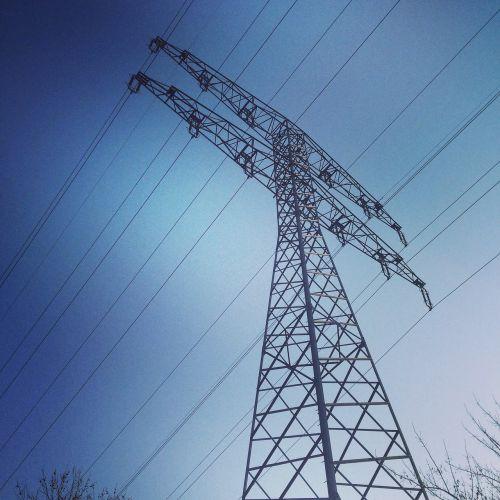 strommast power line power poles