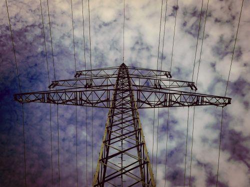 strommast current high voltage
