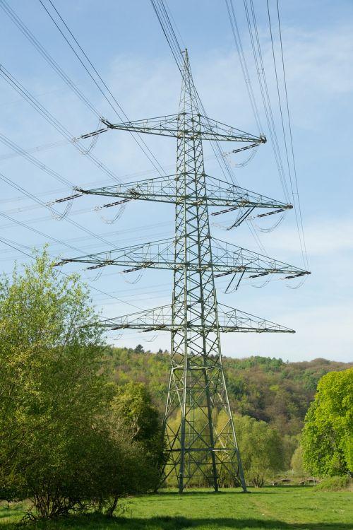 strommast electricity power line